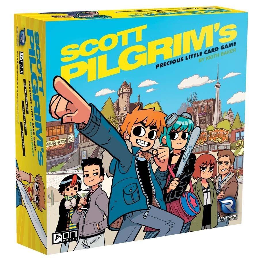 Scott Pilgrim's Precious Little Card Game - Brand New
