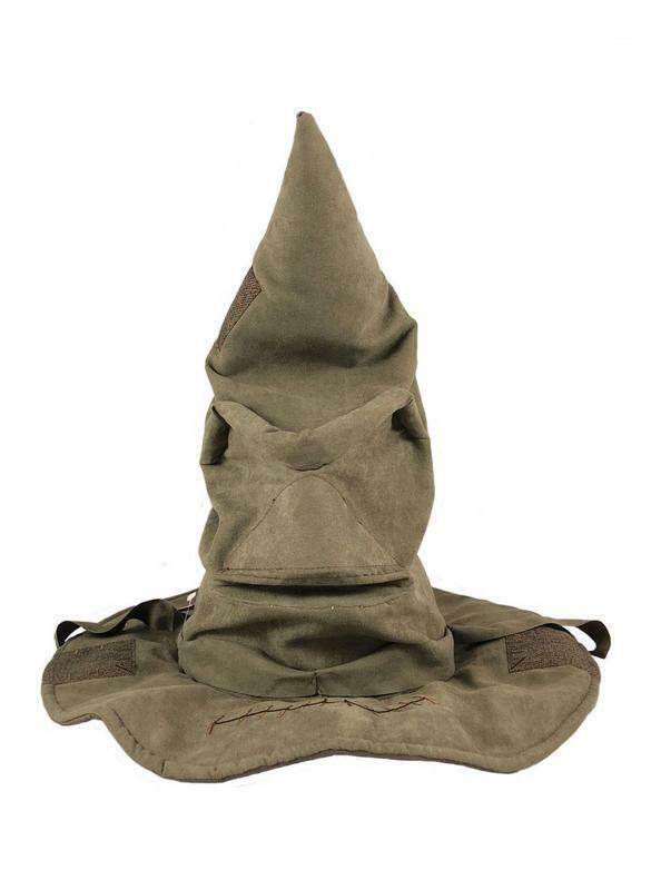 Harry Potter chapeau Choixpeau magique interactif sonore 41cm sorting hat 530817