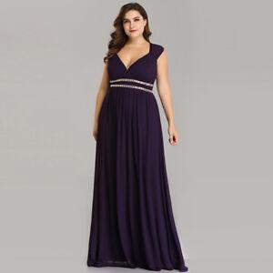 Ever-Pretty-Plus-Size-Bridesmaid-Dresses-Long-Party-Maxi-Dress-Dark-Purple-08697