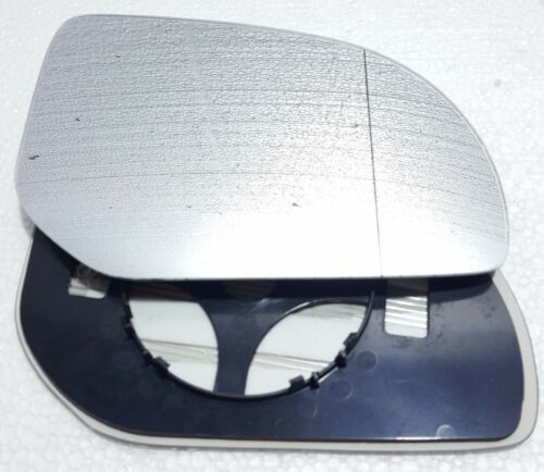 HYUNDAI I20 2011-2013 DOOR WING MIRROR GLASS SILVER HEATED /& BASE,RIGHT SIDE