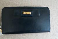 Badgley Mischka Sasha Indigo (blue) Shine Leather Wallet – - $185