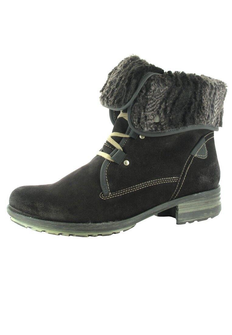 Josef Seibel señora botas negro grandes zapatos XXL sobre tamaño