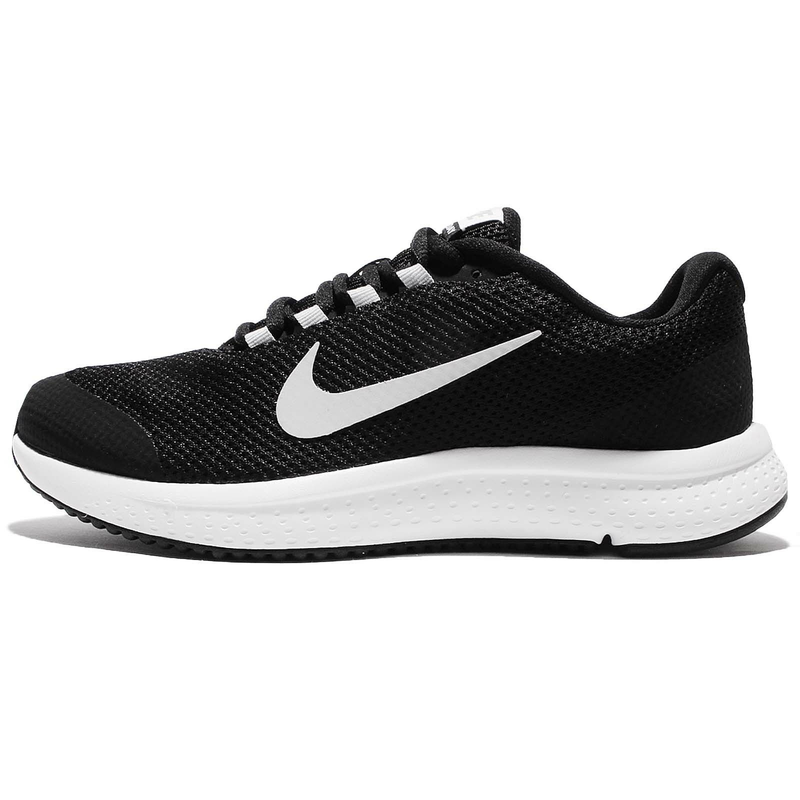 Nike Run All Day Men's Size 8 11 to 11 8 Black White New In Box 8464-001 19c7f8