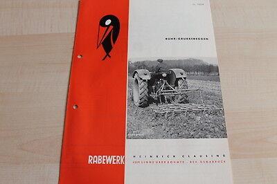 Orderly 144577 Prospekt 05/1964 Elegant And Sturdy Package Rabewerk Rühr-grubbereggen