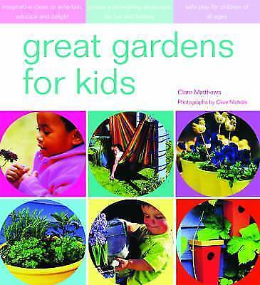 Great Gardens for Kids, , Very Good Book