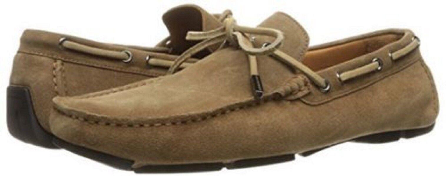 029ed66af Bruno Magli Magli Magli Men s Morotta Slip On Loafer Driving Shoes Sand  Suede 10 NEW IN BOX d5540f