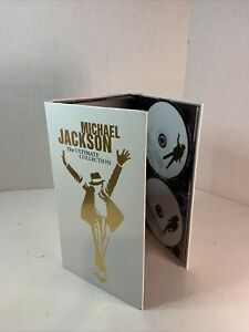 Michael Jackson - The Ultimate Collection 5 Disc 4 CDs & 1 DVD White Box Set