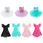 Girls-Ballet-Tutu-Dress-Leotard-Gymnastics-Kids-Ballerina-Dancewear-Costume thumbnail 1