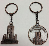 12 Pcs World Trade Center 1973-2001 Twin Towers York City Key Chains 9-11