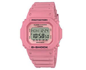 5b0a3f5b460f Casio G-Shock Women s 35mm DW5600LF-W Digital Resin Watch - Pink ...