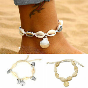 1pcs-Bohemian-Gold-Silver-Shell-Anklet-Bracelet-Handmade-Beach-Foot-Jewelry
