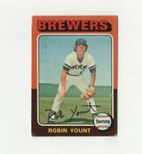 1975-Topps-Robin-Yount-Rookie-223-Baseball-Card-Milwaukee-Brewers-HOF