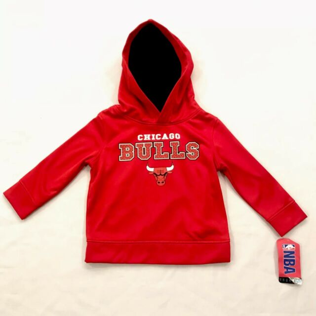 NBA Chicago Bulls Toddler Pullover Hoodie Size 2t