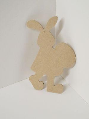 Easter Bunny MDF  Shapes. SET OF 2