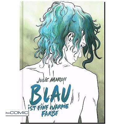 Blau ist eine warme Farbe Julie Maroh Graphic Novel DRAMA COMIC Prestige LP