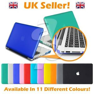 11, 12, 13, 15 Inch Rubberised/Crystal Clear - Macbook Air/Pro Retina Case Cover