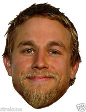 CHARLIE HUNNAM  - JAX Teller Sons Of Anarchy Star - Window Cling Sticker Decal