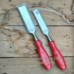 Set-of-2-Carpenter-Chisel-Cobbler-Tool-Collectible-Item