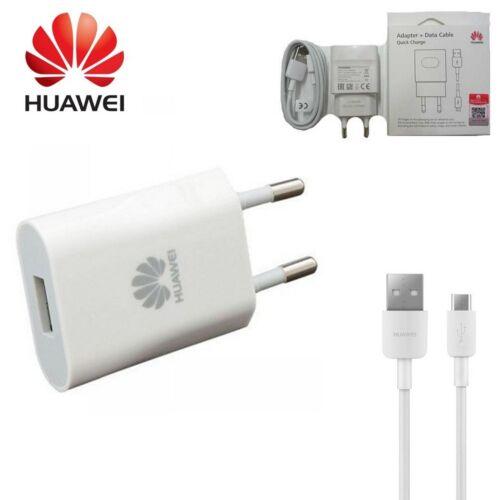 HUAWEI CARICABATTERIA ADATTATORE 9V 2A ORIGINALE   CAVO MICRO USB PER HONOR 5A