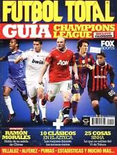 CHAMPIONS LEAGUE GUIDE - Futbol Total # 140 magazine Mexico