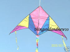 """Jigsaw"" Delta Kite:Delta:65"" W X 33.5"" H, 65.5"" L w/Tail: Family,Fun,Great Gift"