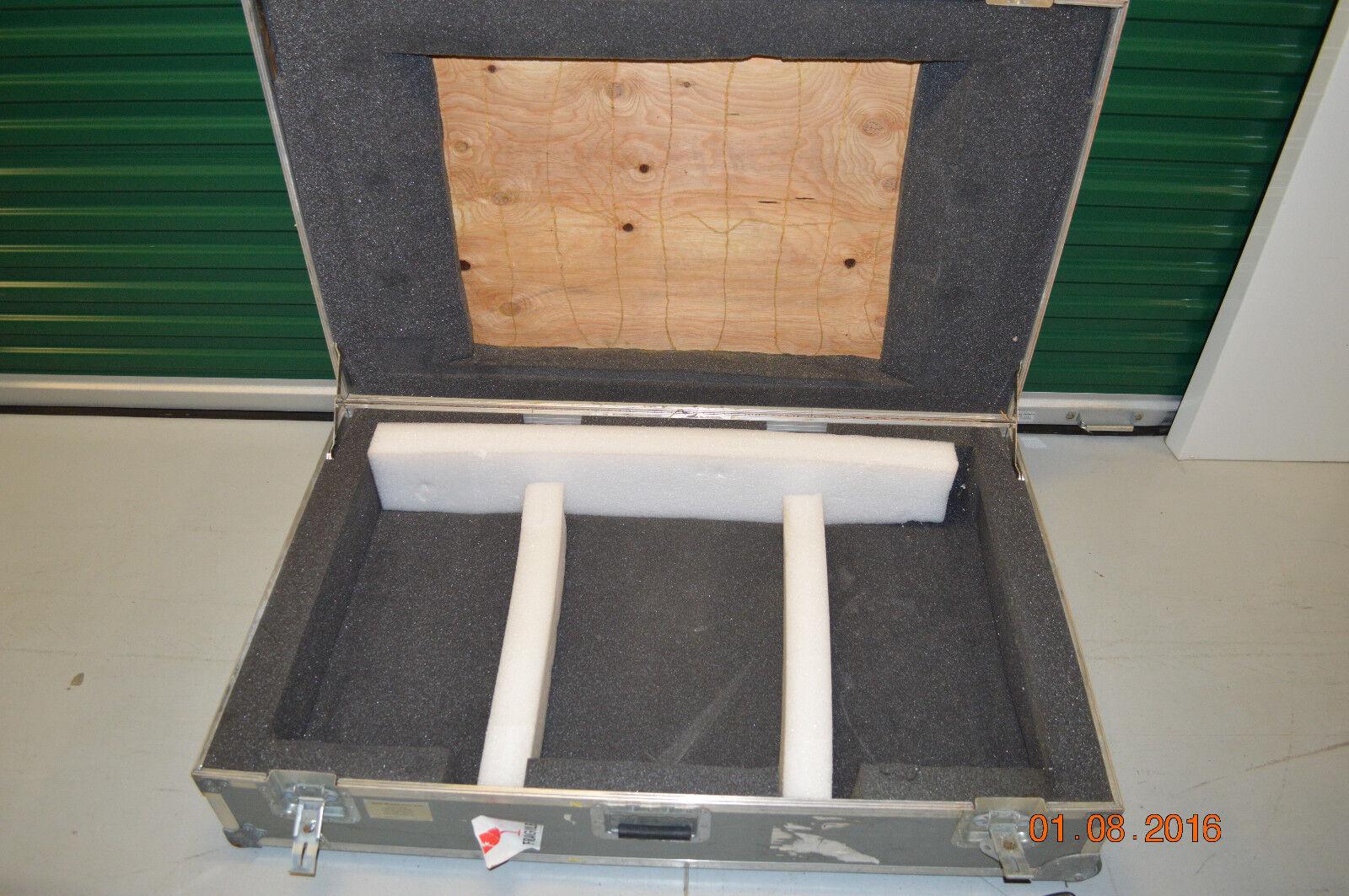 New World Case 5142 LCD LED Plasma Monitor TV Equipment Shipping Case w wheels