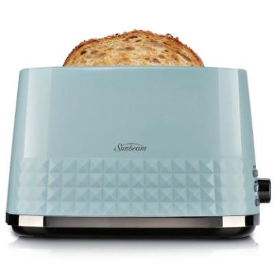 Sunbeam TA1900W TA1900K TA1900B Diamond Collection 2 Slice Toaster