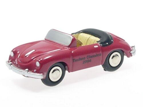 """SCHUCO PICCOLO PORSCHE 356 Cabriolet /""""Techno Classica 2004/"""" # 50167006"""