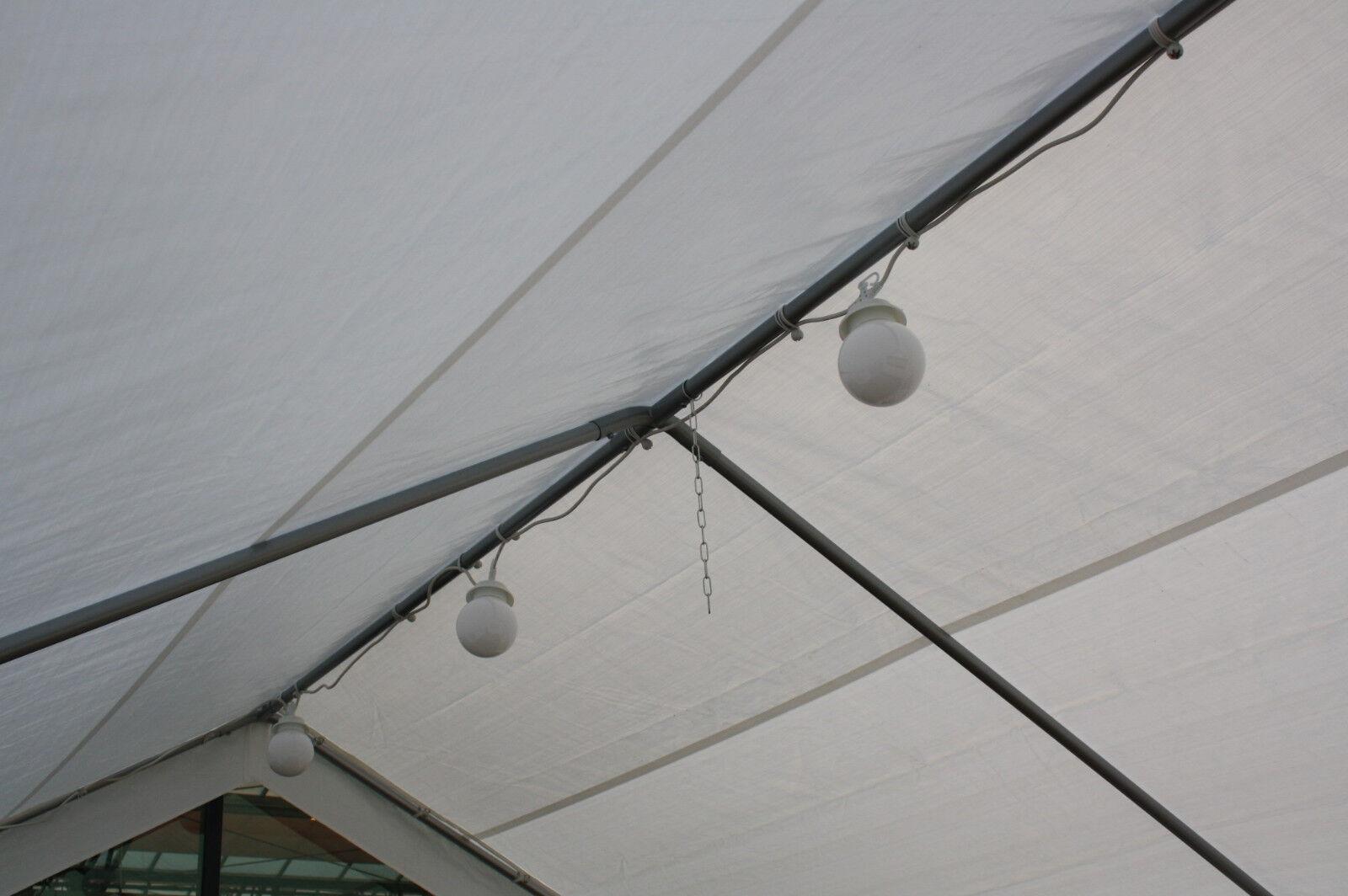 Verlichting Lichtbol 6stuks LED voor Partytent