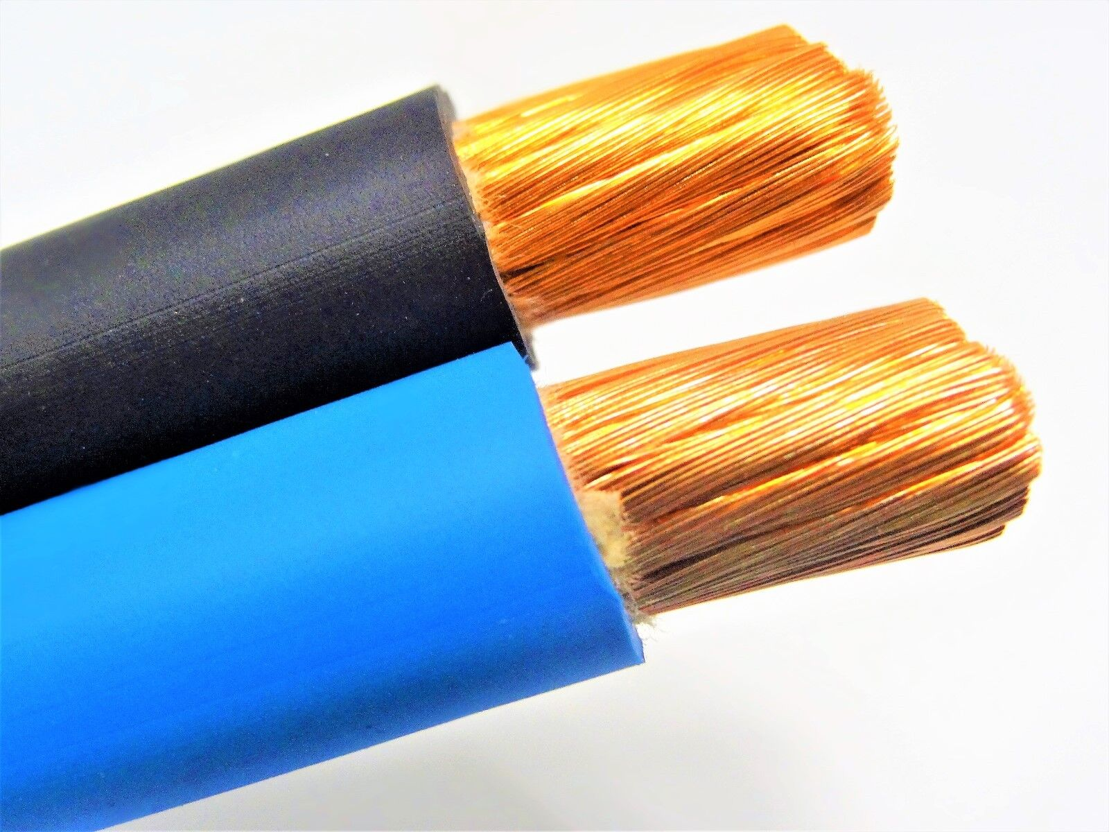 60/' FT 4 AWG GAUGE WELDING CABLEYELLOW COPPER BATTERY LEADS MADE IN USA