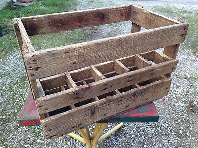 Ancien Casier De 15 Bouteilles En Bois Vin Vieux Bistrot Duverney French Antique Ebay