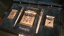 Rare S.T. Dupont Limited Edition 2004 Pharaoh 5 Piece Pen & Lighter Set