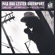 Mad Dog Lester Davenport- I Smell a Rat (CD, Oct-2002, Delmark (Label)) Blues
