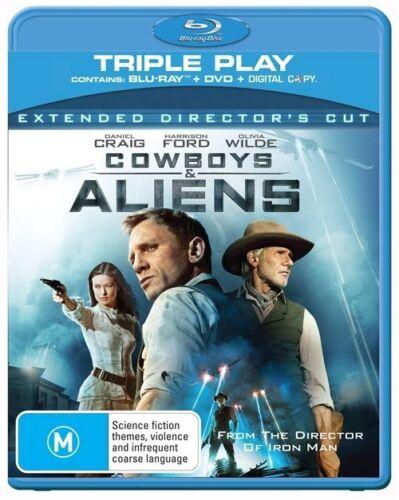 1 of 1 - Cowboys & Aliens ( Blu-ray, , 2-Disc Set )