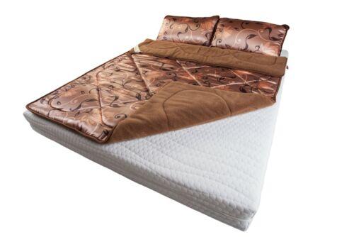 Exclusive Overblanket 100% Merino Wool camel duvet 240 x 200  2 Pillows 45/75cm