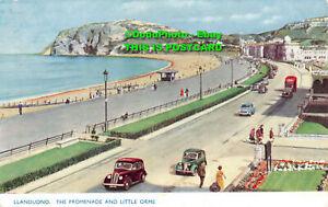 R451091 Llandudno. The Promenade and Little Orme. Photochrom