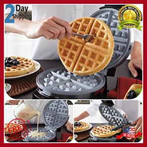 Double Gaufre Belge Maker Iron Gourmet Baker petit déjeuner commercial Waring Pro