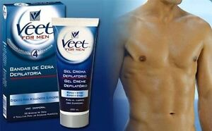 Veet For Men Hair Removal Cream 200ml Works In 4mins In Shower No