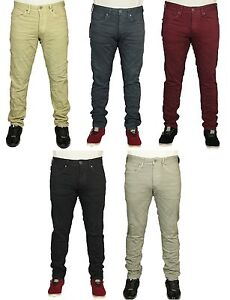MENS-BNWT-JEANS-JACK-amp-JONES-SLIM-FIT-TROUSERS-5-COLOURS-DESIGNER-PANTS-21-99