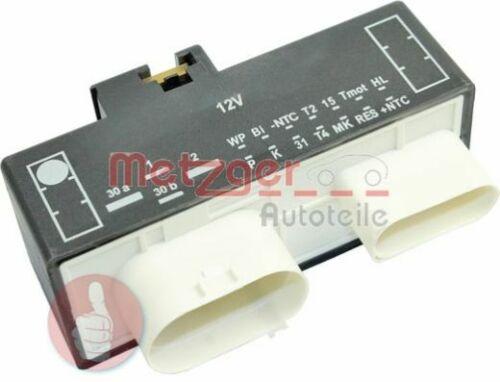 Boucher Dispositif de commande moteur refroidissement 0917284 Ventilateur