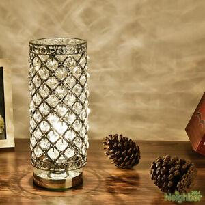 Modern Pastoral Style Small LED Table Lamp Desk Lights Bedroom Bedside Lighting