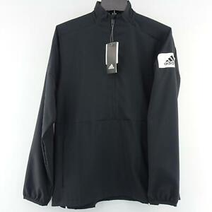 NWT Mens Adidas Climalite Athletic Jacket Shirt Size Small S 1/4 Zip Long Sleeve