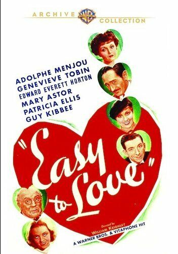 Easy to Love (1934) DVD NEW