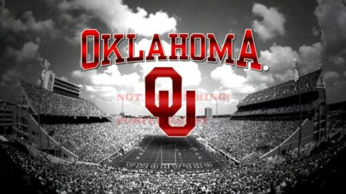 24 inch by 36 inch 2 OKLAHOMA SOONERS College University Poster