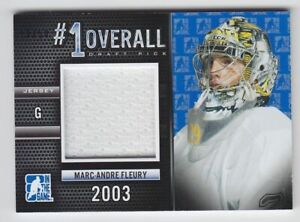 2014-15-ITG-DRAFT-PROSPECTS-MARC-FLEURY-JERSEY-1-OVERALL-50-GAME-USED-Penguins