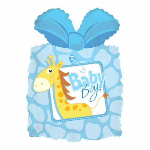 11 pc Giraffe Balloon Bouquet Decoration It/'s a Boy Baby Shower Welcome Home