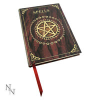 Red Spell Book Embossed Journal Wiccan Pagan Metaphysical Supply