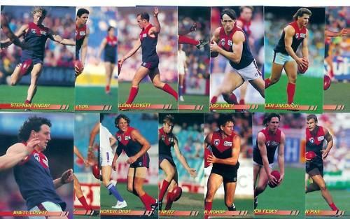 14 Cards 1994 Select MELBOURNE Team Set