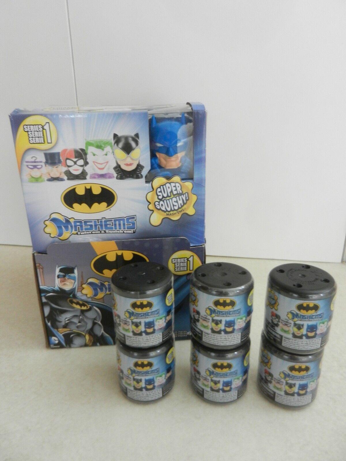 Neue versiegelt batman mashems vollen satz von 6 joker ridler harley quinn katze frau