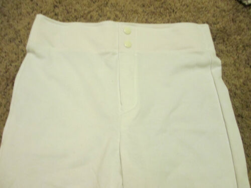 Youth Baseball Pants Size Large Russell Athletic BRAND NEW High Quality WHITE
